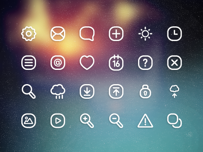 Illustrator Design Icons Set