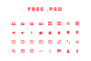 32 PSD Icons