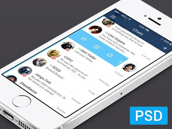 iOS7 Messenger App