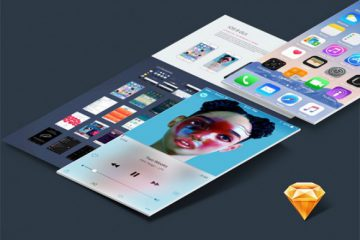 iOS 9 UI Kit for Sketch #2