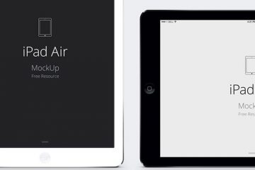 iPad Air Vector Mockup