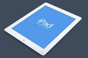 iPad Showcase Mockup