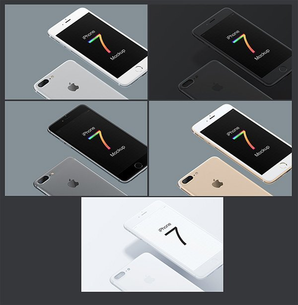 Iphone Mockup set