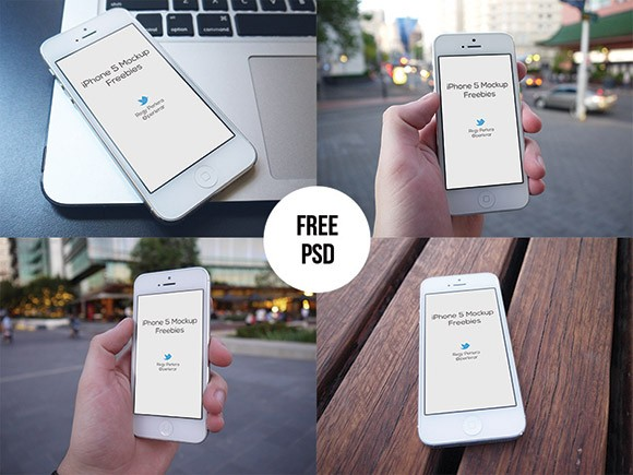 iPhone Mockups Set