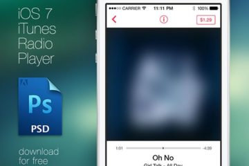 iTunes Player for iOS7