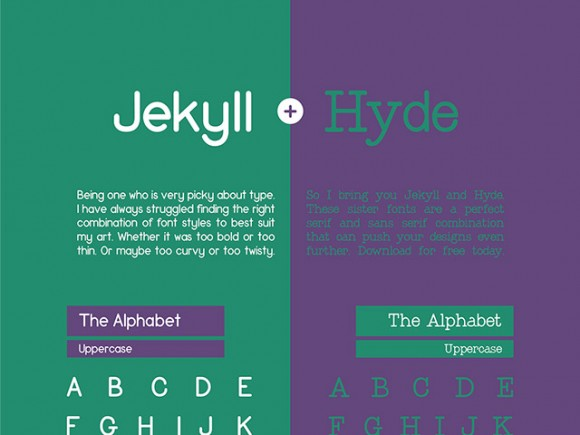 Jekyll and Hyde Font