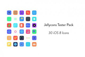 Jellycons iOS8 Icons
