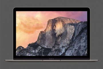 12″ Macbook Retina Mockup
