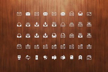 45 Mail Icons