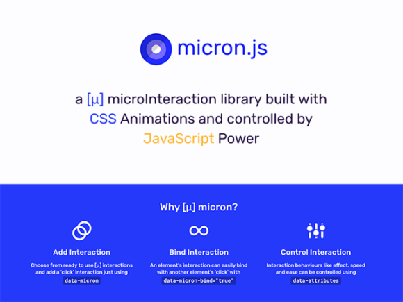 Get this Micron.js for Free