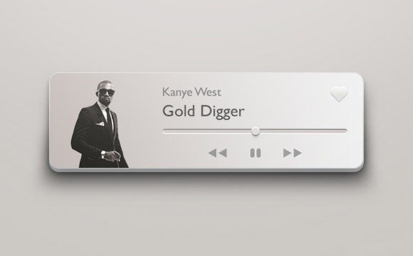 Compact 3D Music Player