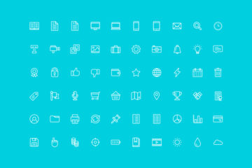 60 Outline Icons