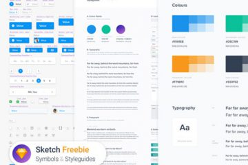 Download Symbols & Styleguides Template for Sketch