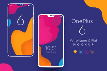 Download For Free One Plus 6 Mockups