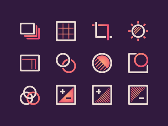 Free Photo Icons Set for Sketch