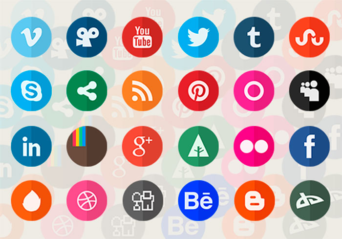 200+ Free Social Media Icon Sets - PixelPapa com