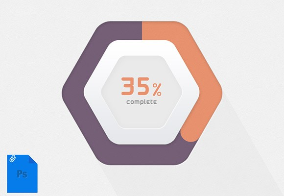 Hexagonal Progress Bar