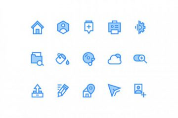 15 Icons for Web