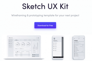 Get this Free Sketch UX Kit