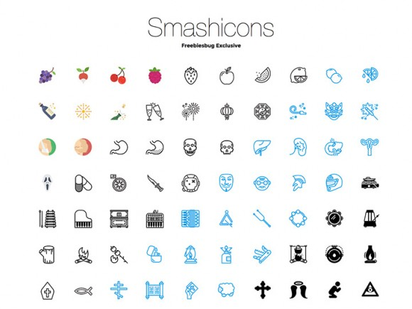 250 Icons from Smashicons