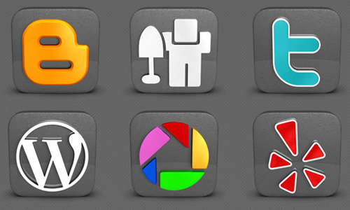 DarkSocial: A Free and High-Quality Social Media Icon Set