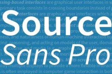 Source Code Pro Free Font