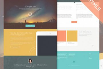 Starnight HTML5 Website Template