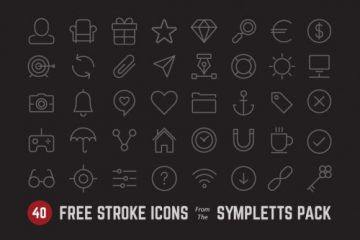 Stroke Icons from Sympletts Pack