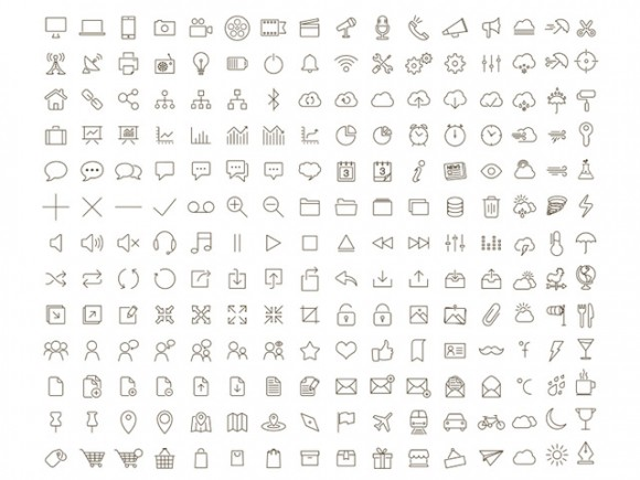 Tonicons Outline Icons