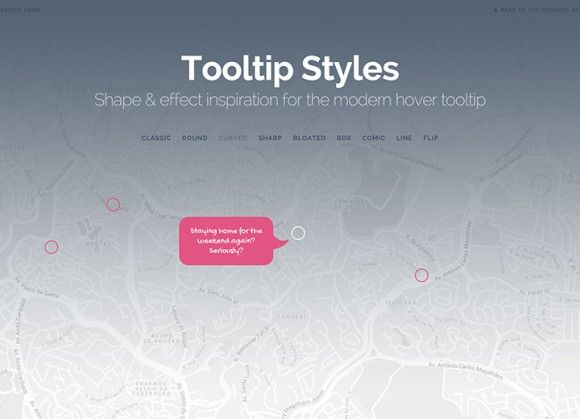 Tooltip Styles Collection