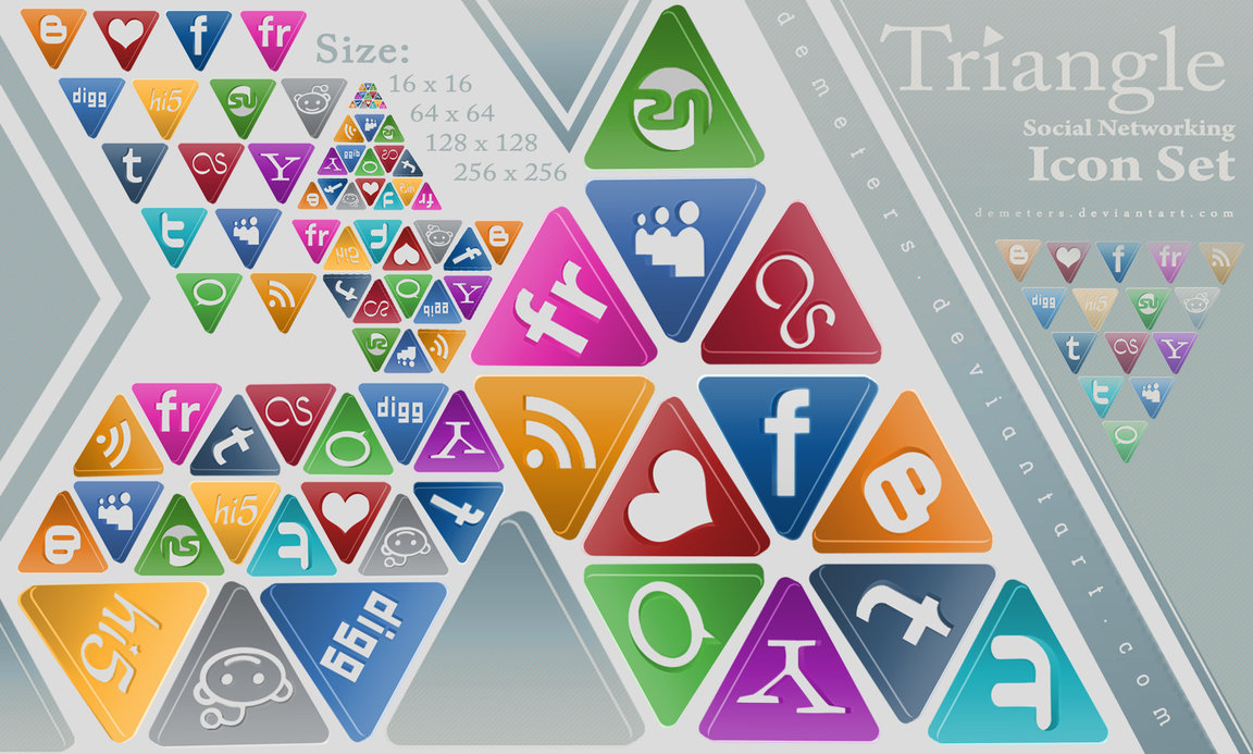 Triangle Social Networking