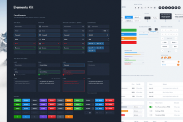 Free Elements Dashboard UI Kit