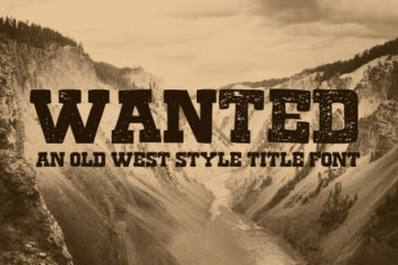 Wanted Old West Font