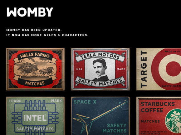Free Download Womby Display Font